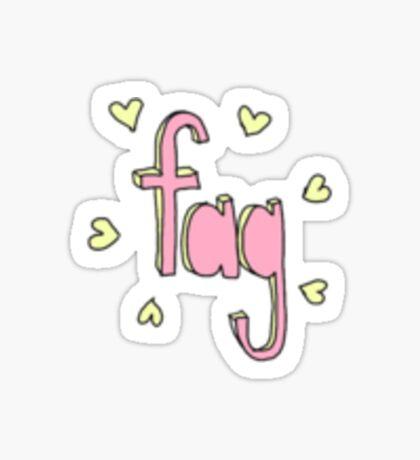 fag Sticker