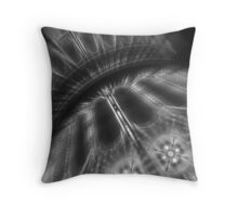 Vegas Lights in B&W No. 2 Throw Pillow