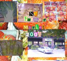 NC Farmer's Market 2008 Sticker