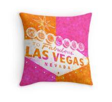 Vegas Sign No. 34 Throw Pillow