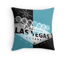Vegas Sign No. 30 Throw Pillow