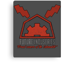 Future Industries Logo Canvas Print
