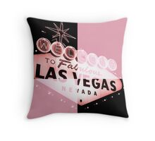 Vegas Sign No. 31 Throw Pillow