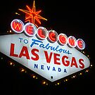Vegas Sign No. 6 by Benjamin Padgett