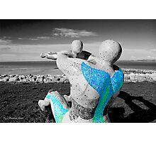 morcambe sculpture Photographic Print