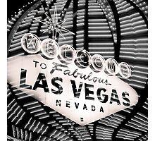 Vegas Sign No. 36 Photographic Print