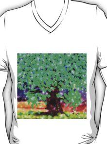 Fantasy oak tree with ravens T-Shirt