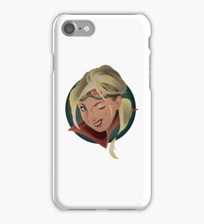 Captain Tomahawk  iPhone Case/Skin