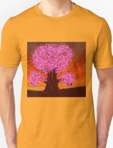 Fantasy tree of pink color T-Shirt
