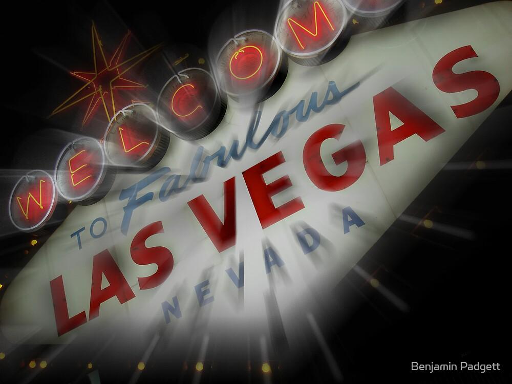 Vegas Sign No. 4 by Benjamin Padgett