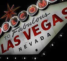 Vegas Sign No. 2 by Benjamin Padgett