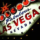 Vegas Sign No. 3 by Benjamin Padgett