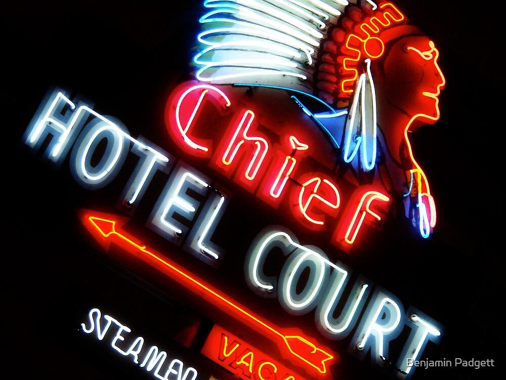 Chief Hotel by Benjamin Padgett