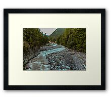 Nisqually River at Longmire Framed Print