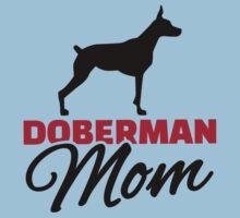 Doberman Mom One Piece - Short Sleeve
