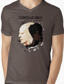 Unbreakable Mens V-Neck T-Shirt