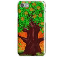 Fantasy tree at spring iPhone Case/Skin