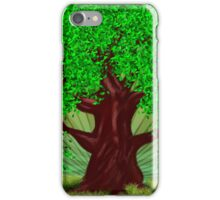 Fantasy tree at summer iPhone Case/Skin