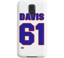 National baseball player Kane Davis jersey 61 Samsung Galaxy Case/Skin