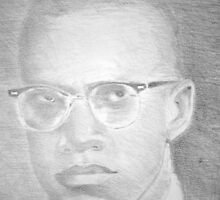 Young Malcolm X by Charles Ezra Ferrell