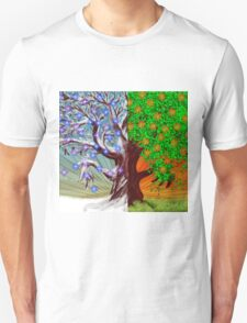 Big tree winter and summer seasons T-Shirt