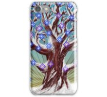 Big winter tree iPhone Case/Skin