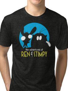 The Adventures Of Ren & Stimpy Tri-blend T-Shirt
