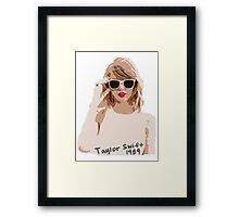 Taylor Swift Framed Print