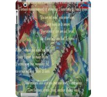 And Now I'll Look Away - Greeting Card iPad Case/Skin