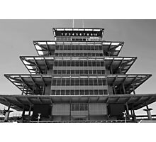 The Indianapolis Motor Speedway-Bombardier Lear Pagoda Photographic Print