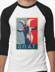 G.O.A.T. - GOAT - Greatest of all time Men's Baseball ¾ T-Shirt