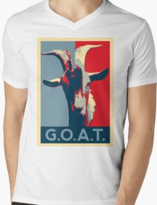 G.O.A.T. - GOAT - Greatest of all time Mens V-Neck T-Shirt