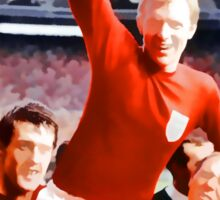 England win the world cup in 1966 Sticker
