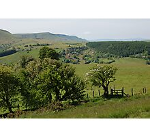 Spring in the black mountains. Photographic Print