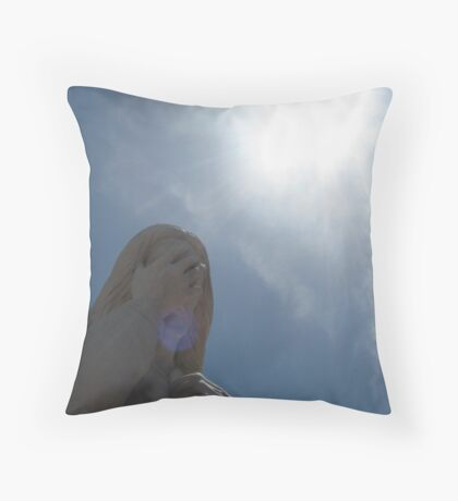 And Jesus Wept... Throw Pillow