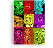 Terror Of The Undead Canvas Print