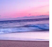 Beach Sunset by Finnsmith
