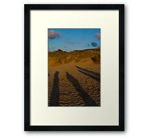 The Watchers Framed Print