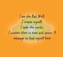 I am the Bad Wolf 1 by ArkelAngel