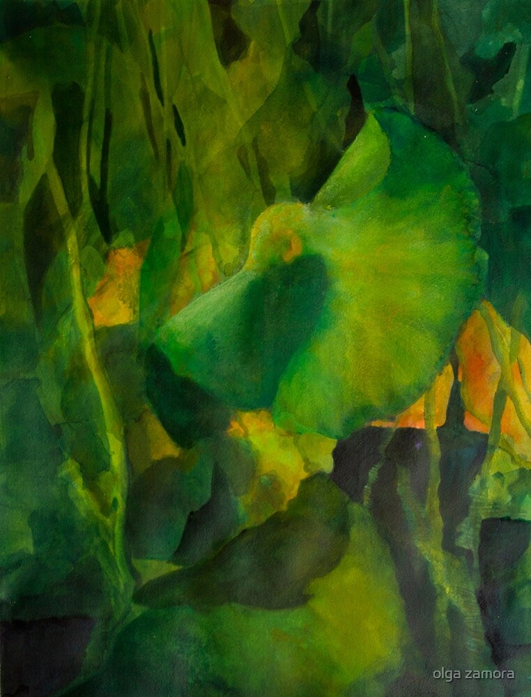 Green Glow by olga zamora
