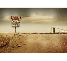 Give me a sign... Photographic Print