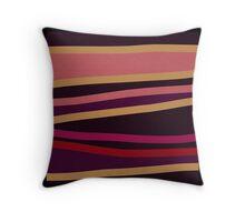 RED abstract modern ART Throw Pillow