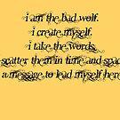 I am the Bad Wolf 2 by ArkelAngel