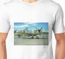 Spitfire IIa P7350 and Phantoms Unisex T-Shirt