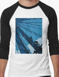 Ferris Wheel  Men's Baseball ¾ T-Shirt