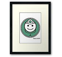 Baymax´s healthcare system Framed Print