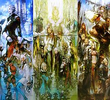 Final Fantasy XIV by JamieC94