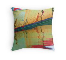 Scratchy Reflection Throw Pillow