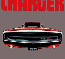 1970 Dodge Charger by Mike Pesseackey (crimsontideguy)