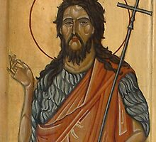 Saint John, detail by Ivana Vuckovic